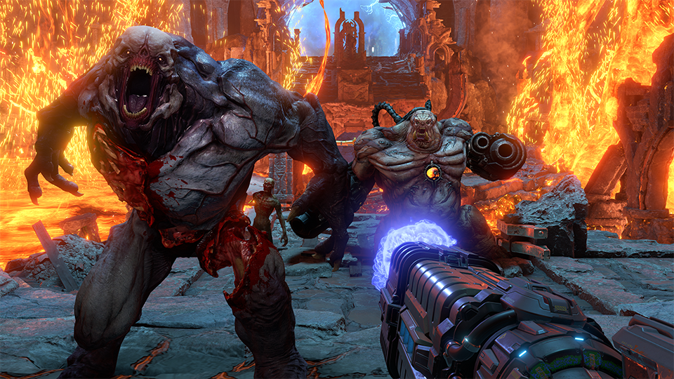 Image montrant le jeu Doom Eternal 2020