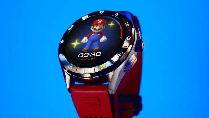 Montre connectée Tag Heuer Super Mario